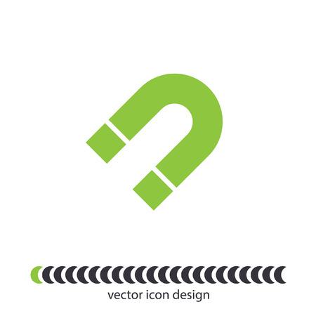 magnet vector icon Vector