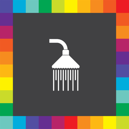 shower vector icon Vector