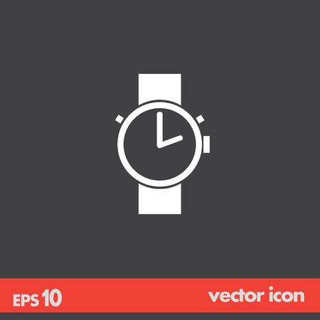 hand watch vector icon Vector