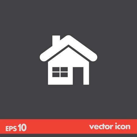 home house vector icon Vector