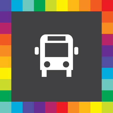 bus icon Vector