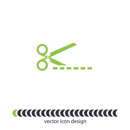 scissors cut vector icon Vector