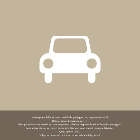 automobile car vector icon Vector