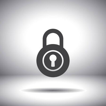 lock vector icon Vector