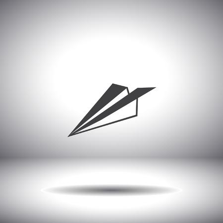 paper plane vector icon Vector