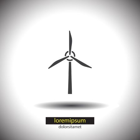 wind generator vector icon Vector