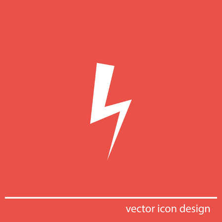 symbol: bolt vector icon