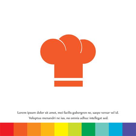 fine cuisine: cuoco cappello vector icon