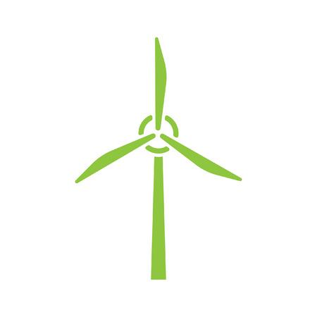 генератор: вектор ветра генератор значок Иллюстрация