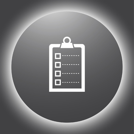 task list: check list vector icon