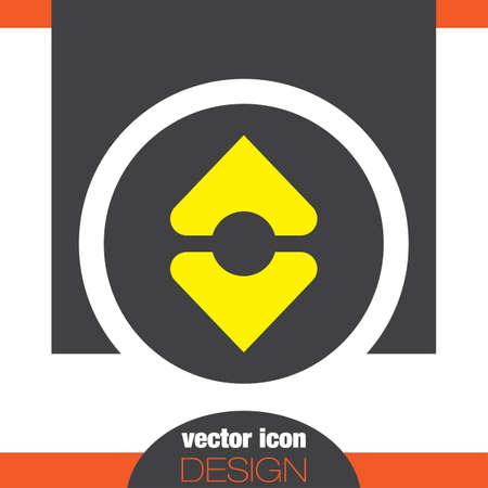 ソート: 並べ替えベクトル アイコン