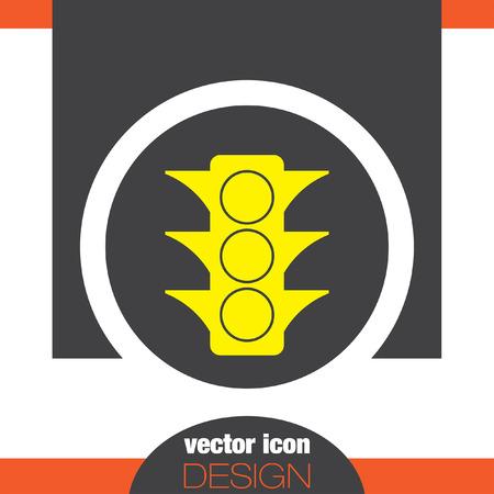 stoplight: semaphore vector icon