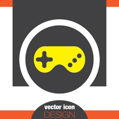 joypad: dispositivo de juego icono vector gamepad