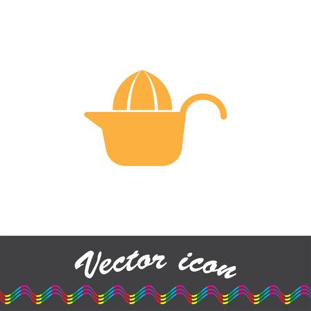 citrus: citrus squeezer vector icon