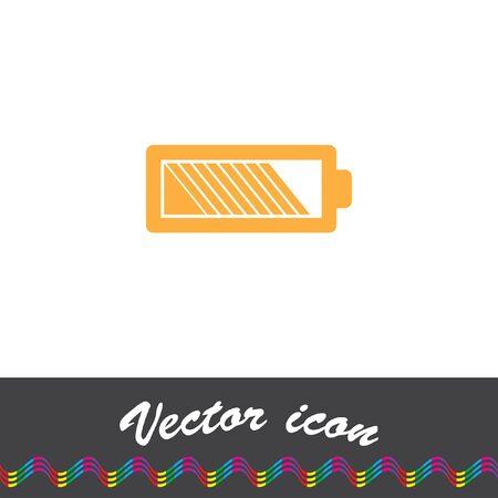 alkaline: battery vector icon logo