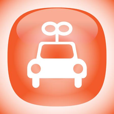 toy car vector icon Vector