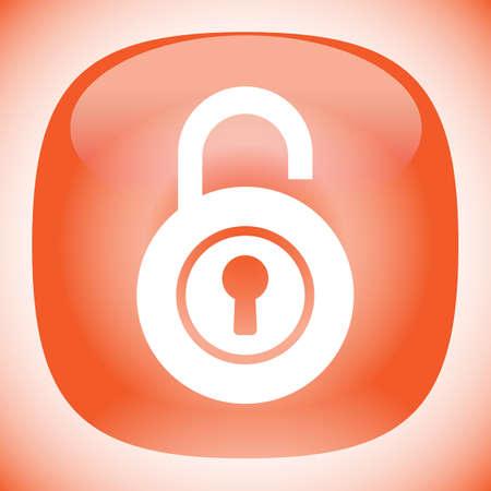 lock open vector icon Vector