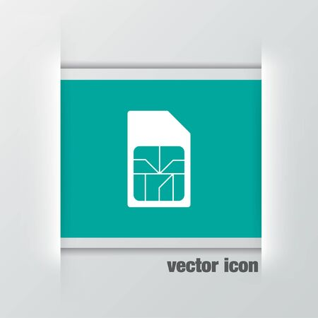 sim: sim card vector icon