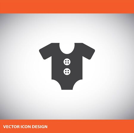 baby in suit: baby suit vector icon