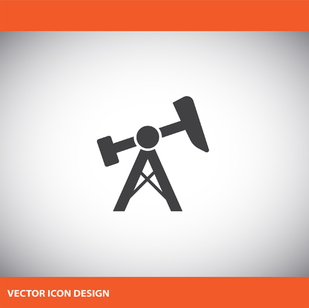 jack pump: oil pump jack icon