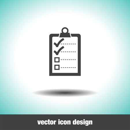 task list: check list with two small ok sign vector icon