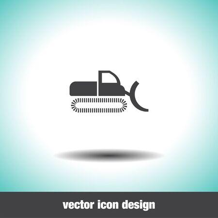 excavation: dredge vector icon