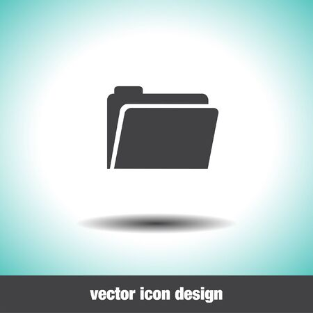 web directories: folder vector icon