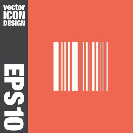bar code vector icon