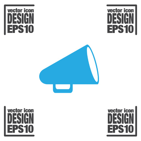 megaphone: megaphone vector icon