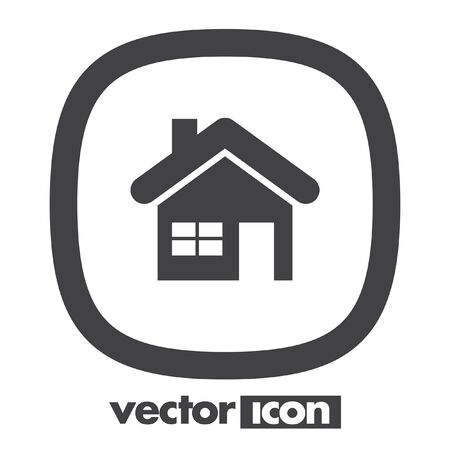 home icon: home house vector icon