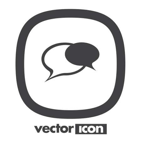 text bubble: speech bubble icon