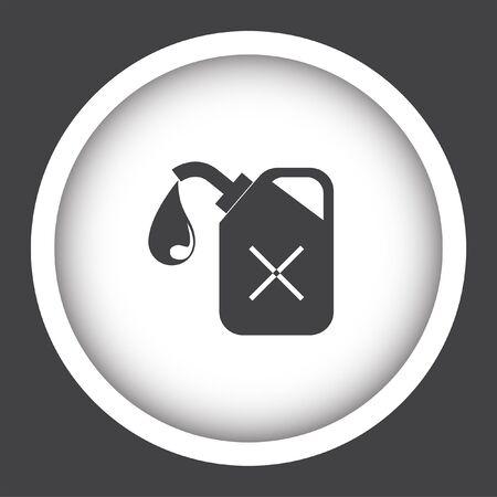 petrol: petrol fuel can vector icon