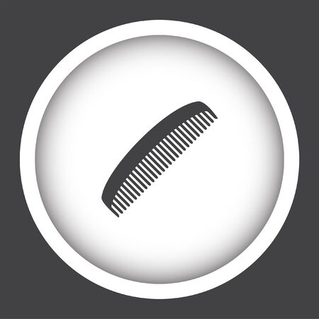 comb: comb vector icon