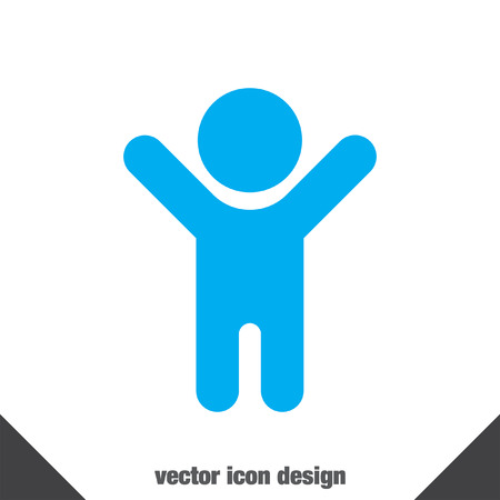 children  play: child vector icon