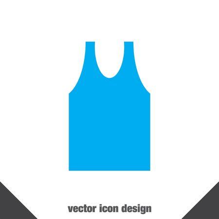 man shirt: man shirt vector icon
