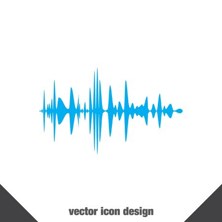 soundwave: icono de vector de se�al de audio
