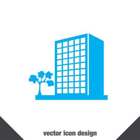 homes exterior: building vector icon