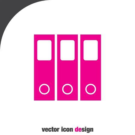 folder icon: office folder vector icon