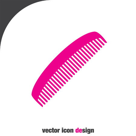 comb: comb vector icon