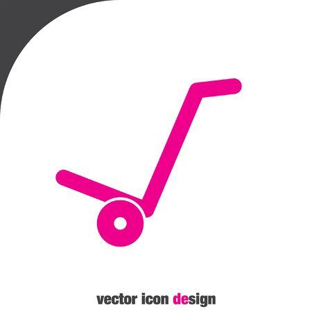 manual: manual cart vector icon