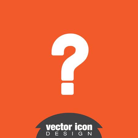 punto interrogativo: interrogativo vettore icona Vettoriali