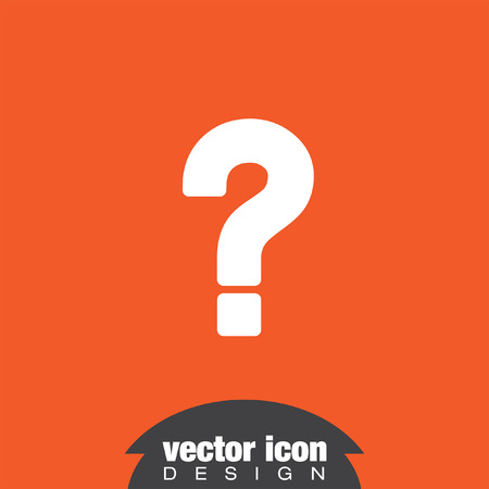 ask a question: question mark vector icon
