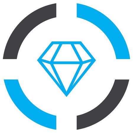 gemstones: diamond vector icon