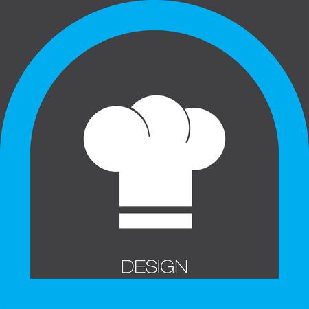 fine cuisine: Icona cappello da cuoco