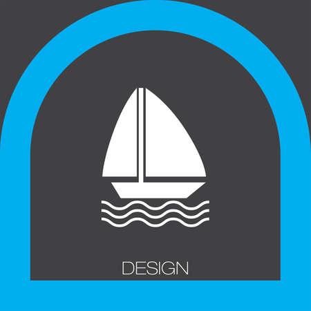 sailboat: sailboat icon