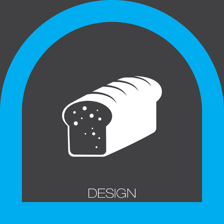 french toast: toast bread icon