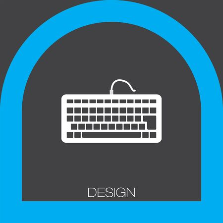 input device: keyboard icon