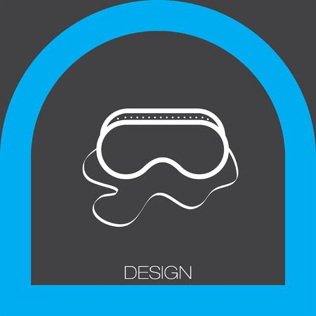 weld: safety work glasses icon