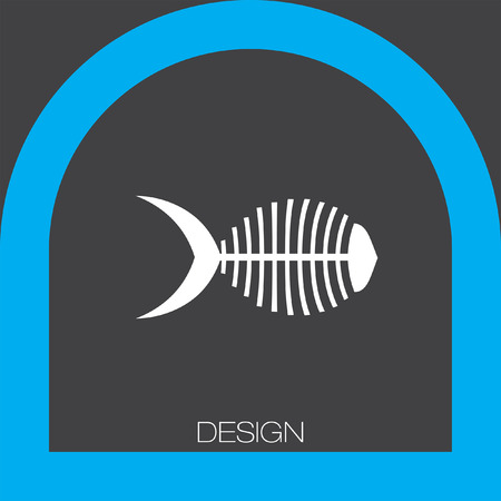 fish bone: fish bone icon