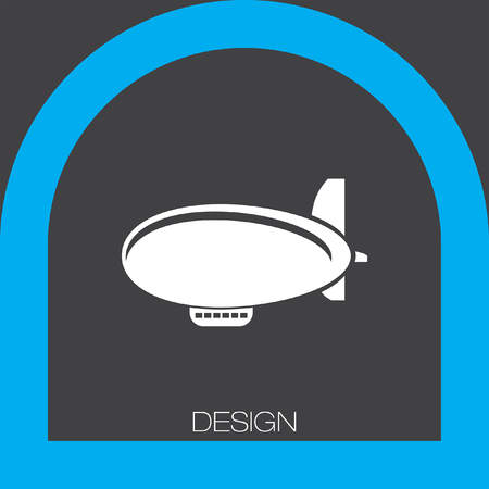 airship: airship zeppelin icon